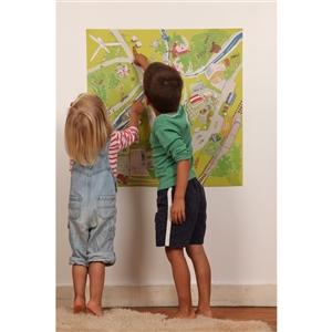 Affiche Verte-Ville - Pour apprendre l'�cologie aux enfants