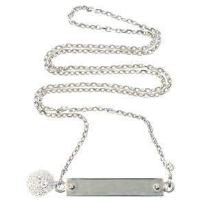 Bracelet Pendentif en argent Chic-Strass