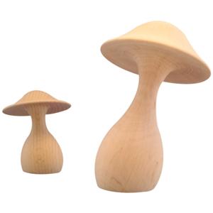 Champignon en bois tourn� - Promenons-nous dans les bois - Small