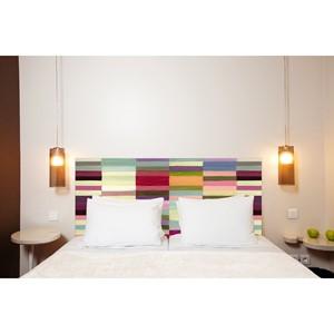 Artisans d coration maison et art de la table - Tete de lit mademoiselle tiss ...