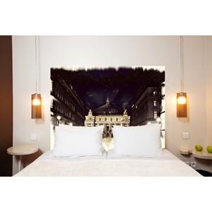 Artisans d coration maison et art de la table - Tete de lit sans fixation au mur ...