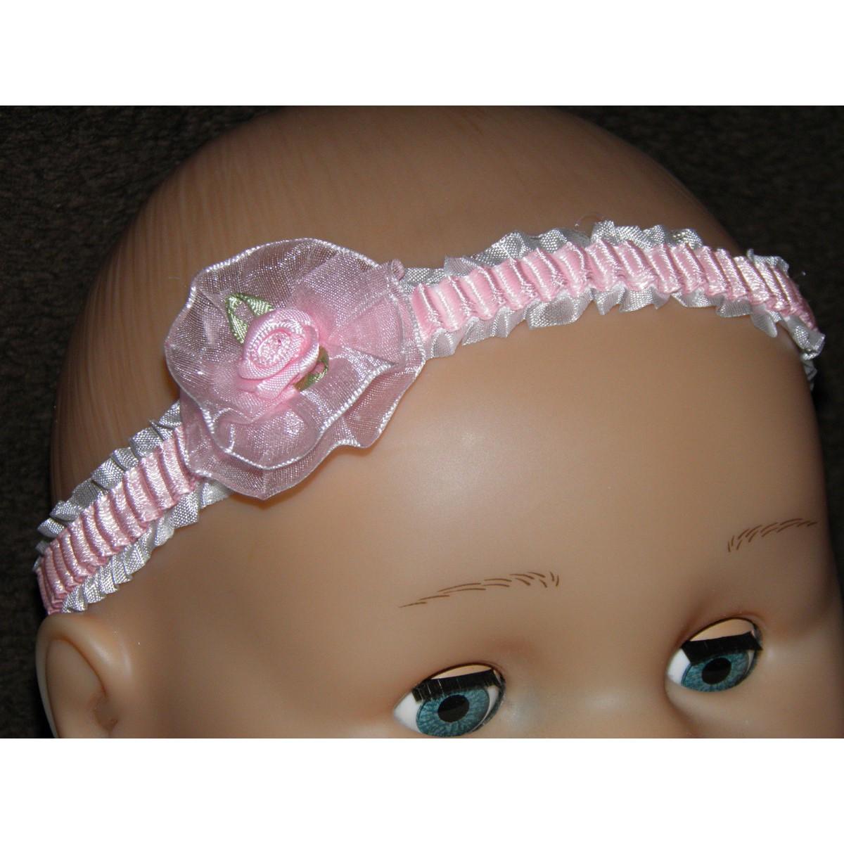 Bandeaux de fleur de bébé fille