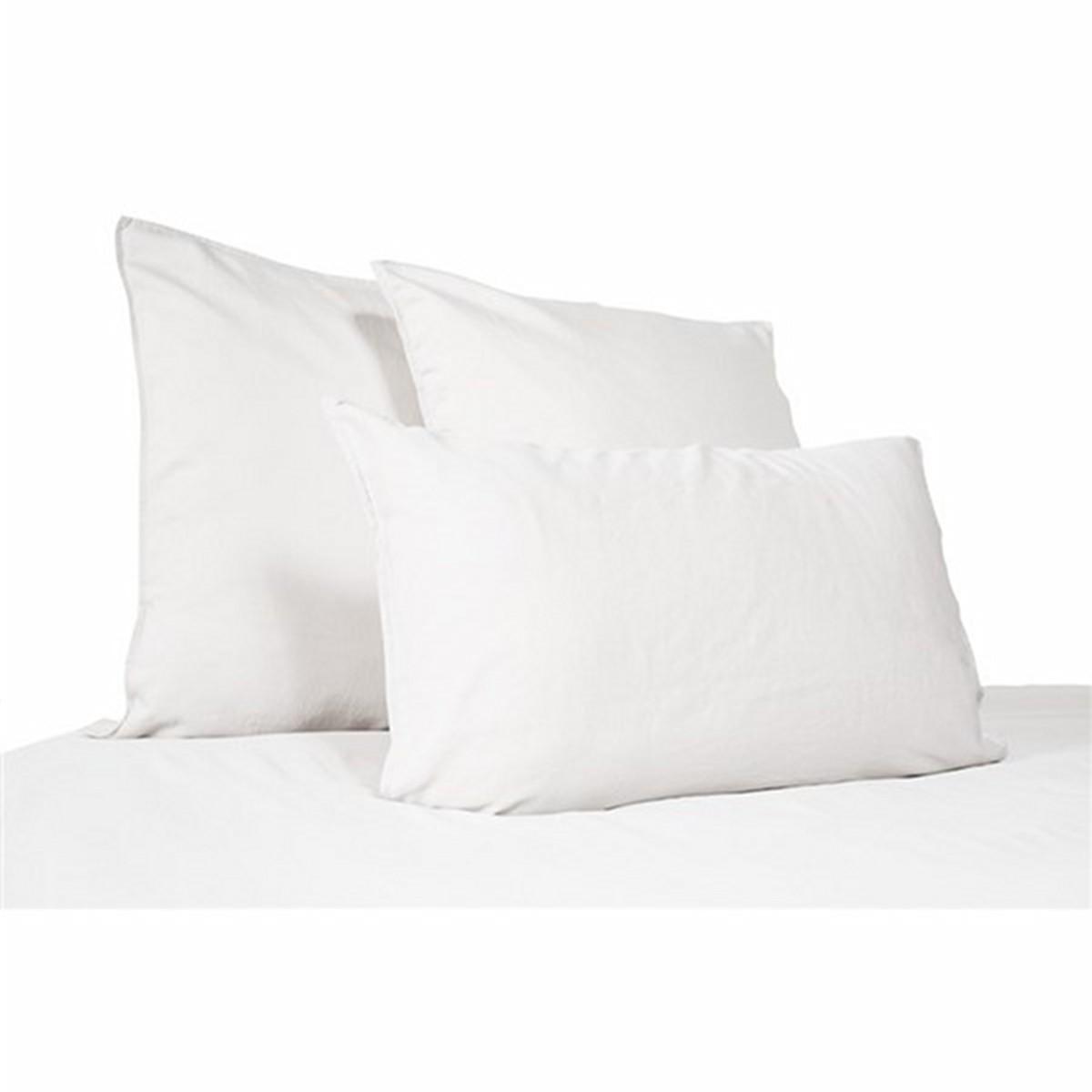 drap de dessus eternity en satin de coton lav clara linge. Black Bedroom Furniture Sets. Home Design Ideas