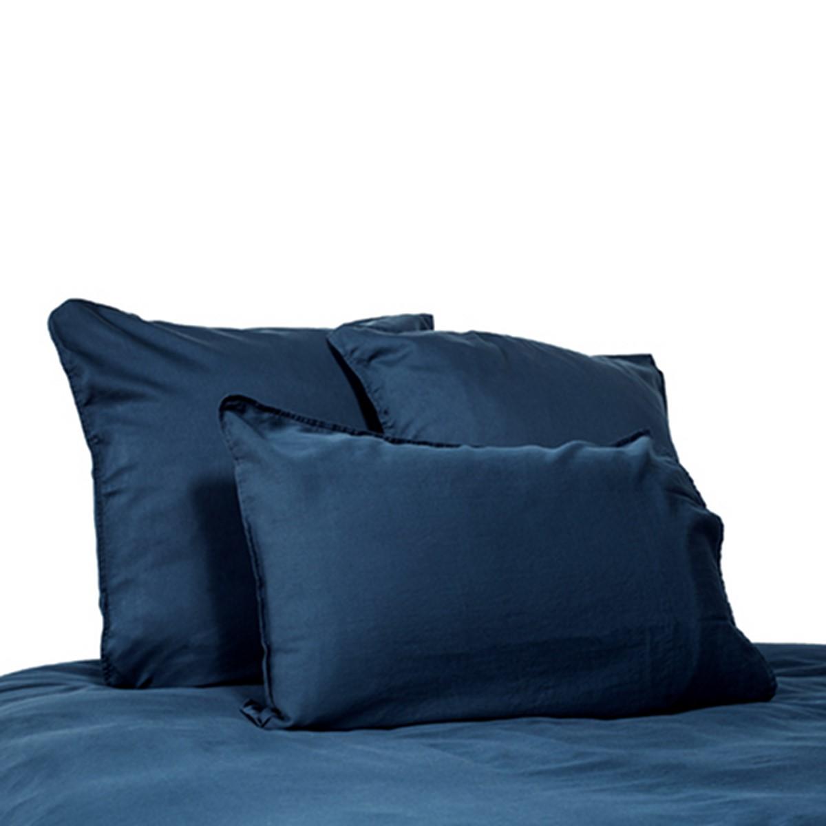 drap housse 180x200 eternity satin de coton lav clara linge. Black Bedroom Furniture Sets. Home Design Ideas