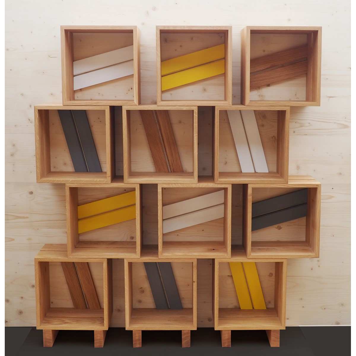 fabriquer bibliotheque bois maison design. Black Bedroom Furniture Sets. Home Design Ideas