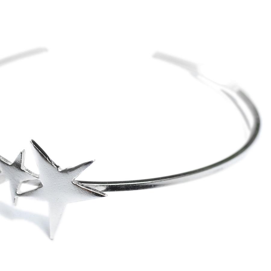 Bracelet �toile argentSati