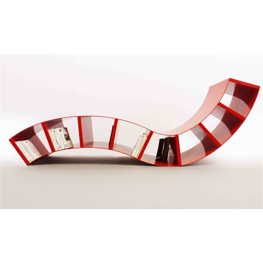 Chaise longue design boabook rouge thomas de lussac - La chaise longue logo ...