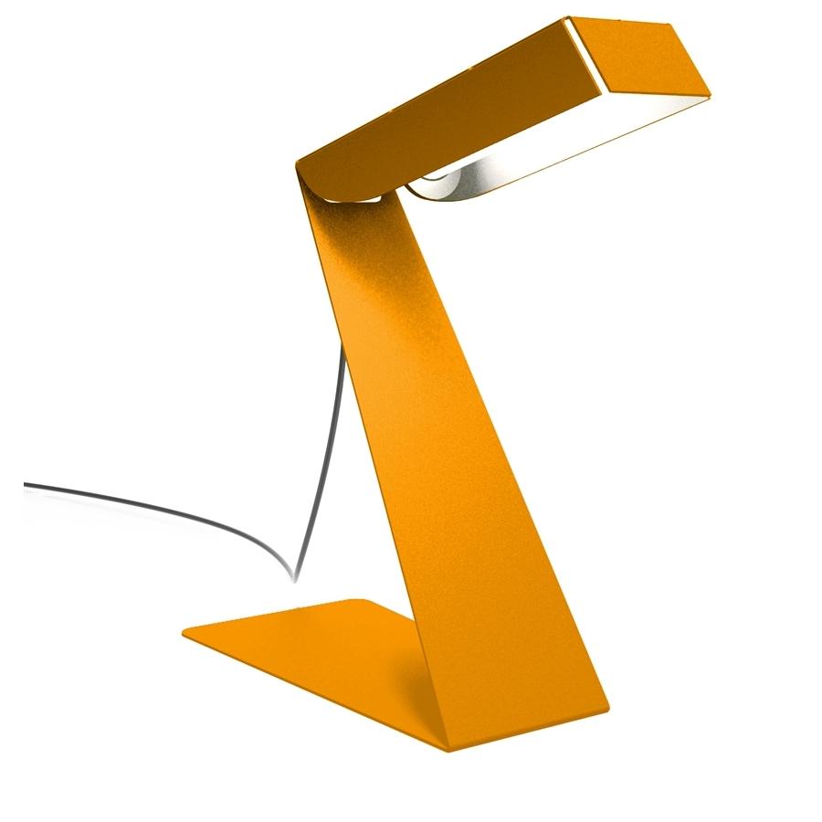 Lampe de bureau design small zlight orange thomas de - Lampes bureau design ...