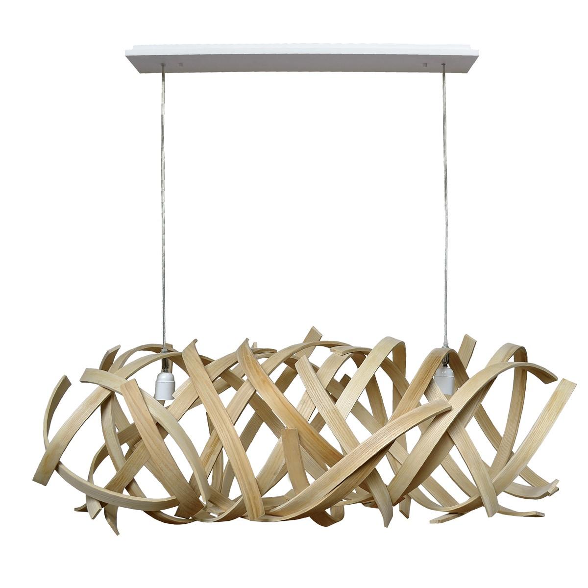 Lustre Design Bois : Lustre design en bois Lola LIMELO DESIGN