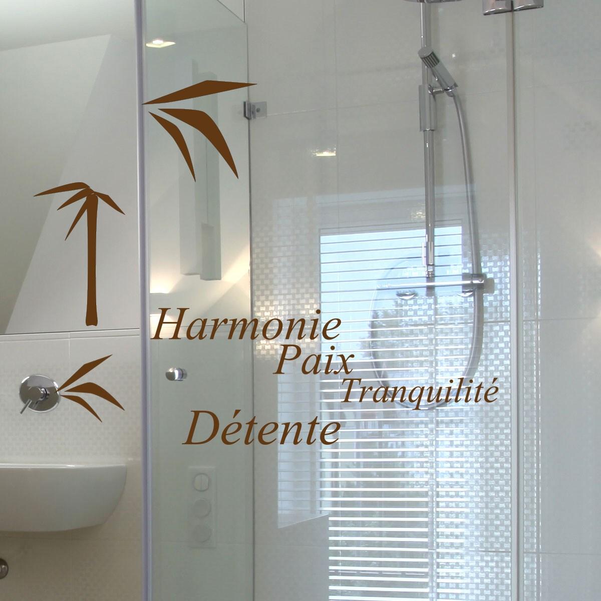 Stickers paroi de douche fashion designs for Sticker douche salle de bain