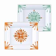 2 Vide poches Porcelaine de Limoges FLORIDA