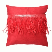 Coussin déco - Coussin CUSHMOO Rouge - Tissu - Boz
