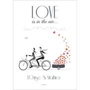 Affiche personnalis�e love