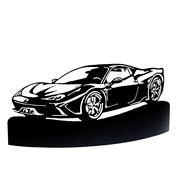 Applique murale voiture collection Ferrari 488 GTB