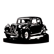 Applique murale voiture collection Traction Avant