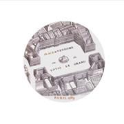 Assiette S Porcelaine de Limoges d�cor PLACE VENDOME