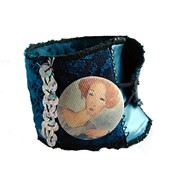 Bracelet manchette en tissu Modigliani