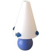 Lampe de chevet enfant Poissons bleus
