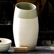 Vase d�co table c�ladon